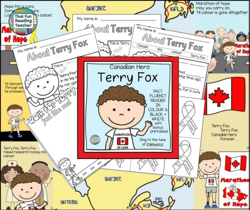 Terry Fox Story told in song K-3