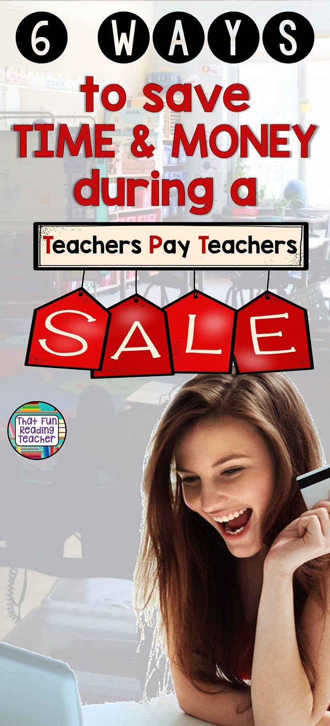 Hello fellow educators! If you're shopping a Teachers Pay Teachers sale, here is what I have learned about being strategic during a sale! #TpT #TpTsale #TpTsaletips #BTSreadyWithTpT