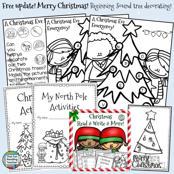 Christmas Read and Write and More Free update!