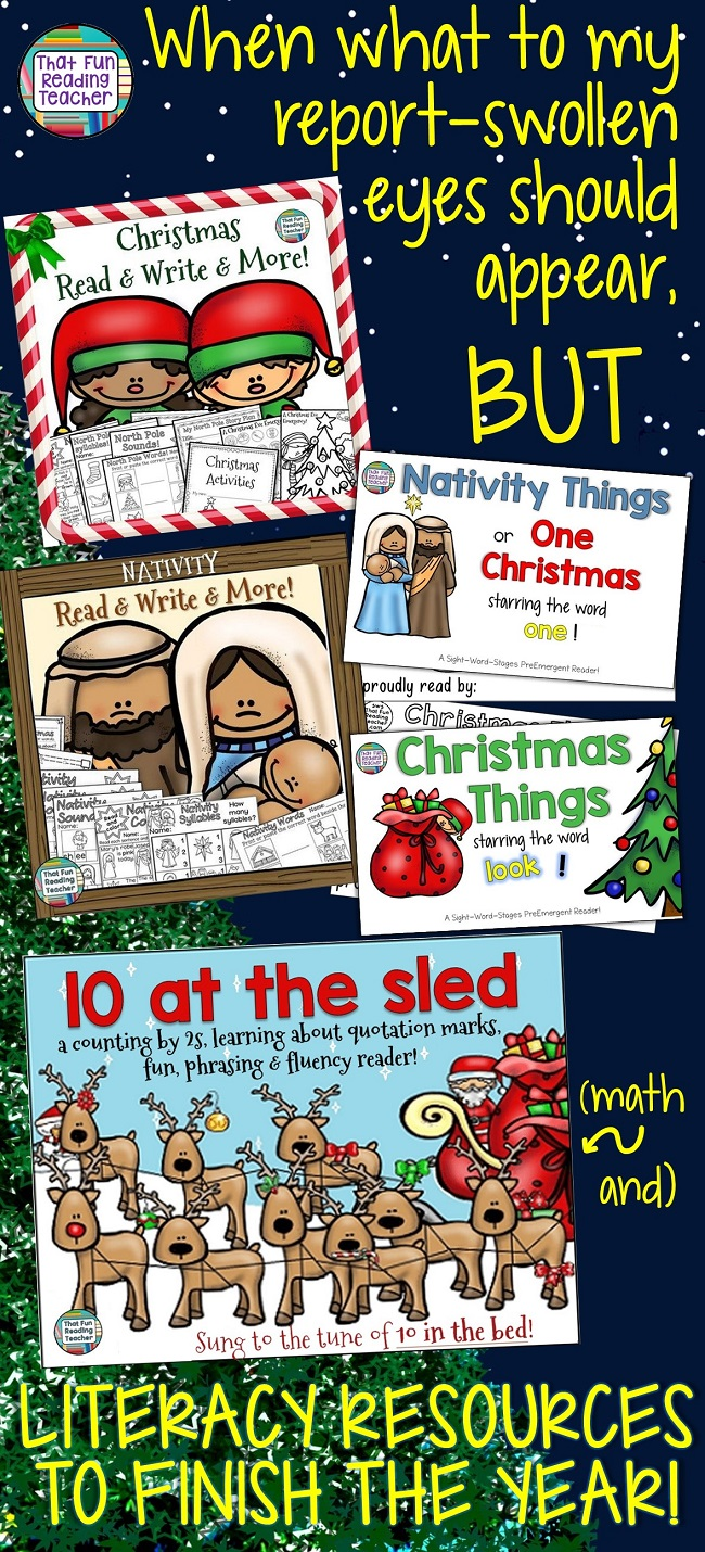 Teaching kindergarten and primary this Christmas? Here are some fun early literacy activities and readers to celebrate the season! $ #christmas #literacy #fun #earlyliteracy #education #teaching #primary #kindergarten