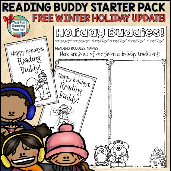 Reading Buddies Starter Pack - Winter Holiday free update!