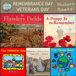 Remembrance Day / Veteran's Day stories for young children