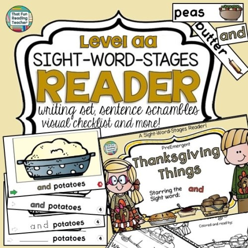 thanksgiving-things-sight-word-stages-level-aa-reader-writing-and-activity-set