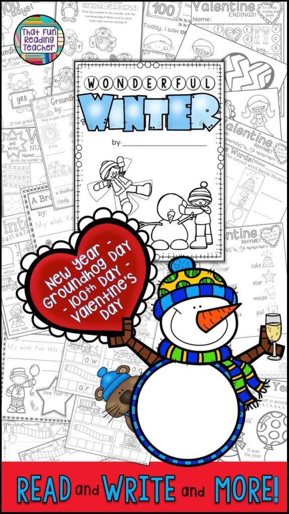 My first grade students love these fun Winter writing activities! Click here to see more!