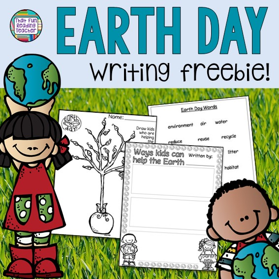FREE Earth day printable! | That Fun Reading Teacher