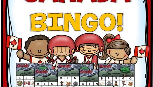 Canada BINGO game free update to 30 cards!