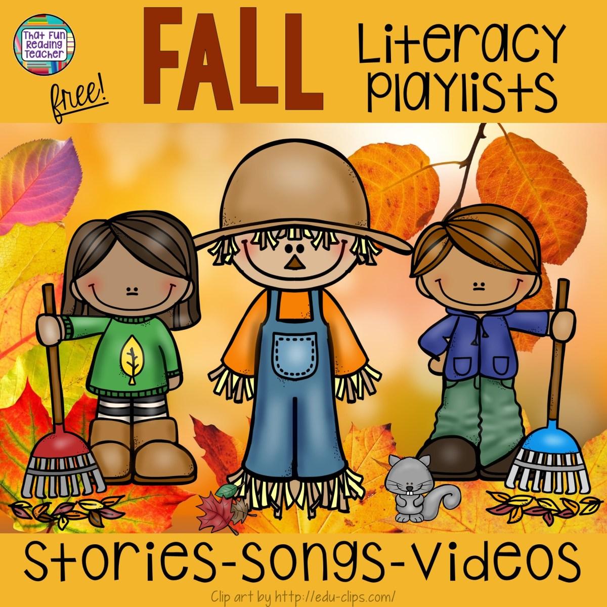 Fall Literacy Playlists - Free!