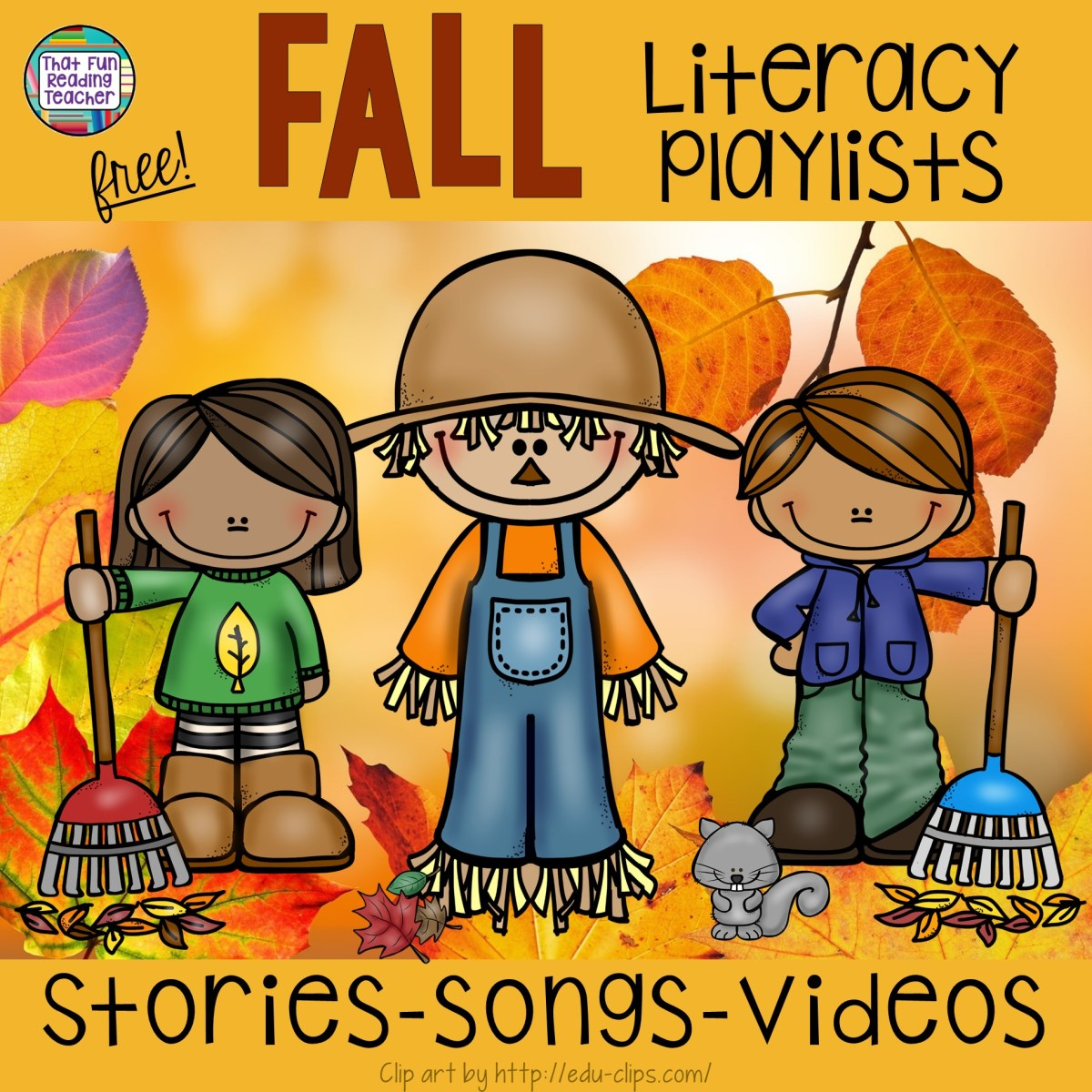 Fall Literacy Playlists - Free!