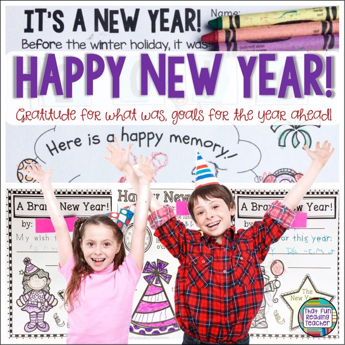 Happy New Year! Gratitude for what was, goals for the year ahead! #happynewyear #gratitude #newyearsresolution #education #iteachprimary #happymemory #wishfornewyear #hope