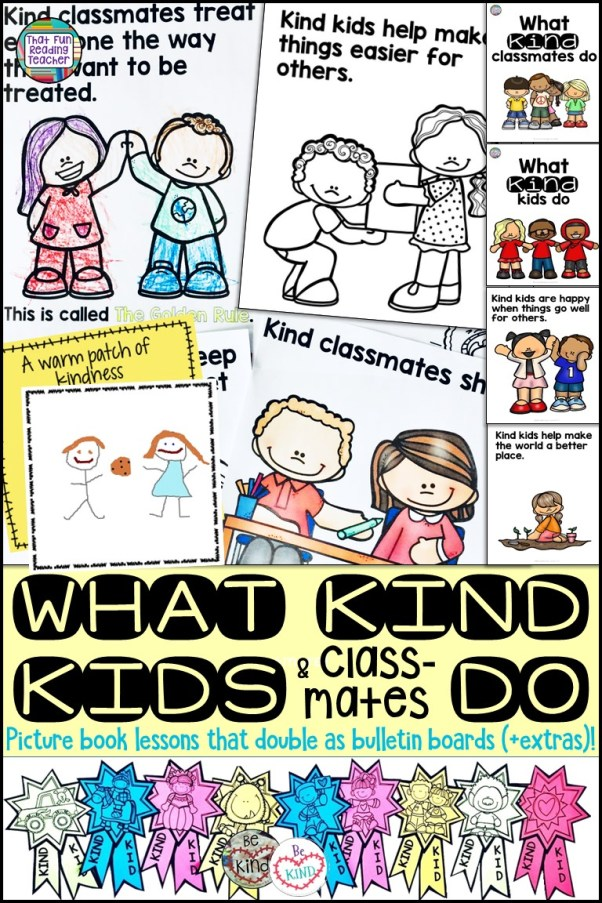 What kind kids and classmates do #kindness #education #kids #bulletinboard #classroommanagement #kindergarten