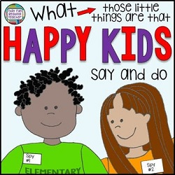 Growth mindset story for kids: What happy kids say and do! Told from the perspective of two child narrators who closely observe the kids who always seem to be happy . What are their secrets? It turns out, those happy kids have a few things in common.