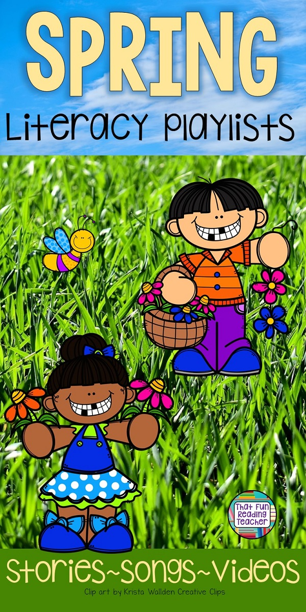 Spring stories, songs and videos - free playlist! #spring #education #kindergarten #earlylearning