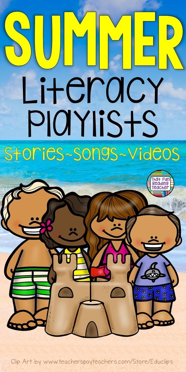 Summer stories, songs and videos - free playlist! #summer #education #kindergarten #earlylearning