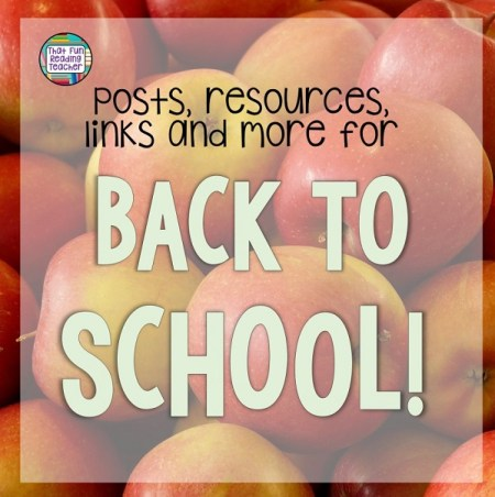 Back to School page