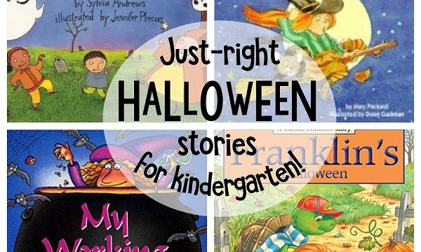 Just right Halloween stories for Kindergarten #halloween #stories #kindergarten #kidlit #childrensbooks #readaloud #teaching #earlylearning #earlyliteracy