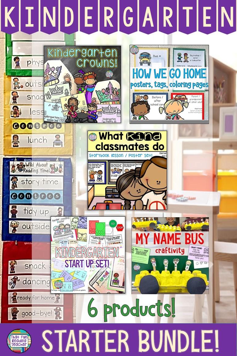 5 Kindergarten teacher tips for a safe & positive 1st day of school!