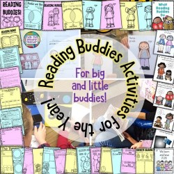 Reading Buddy Activities for the year!