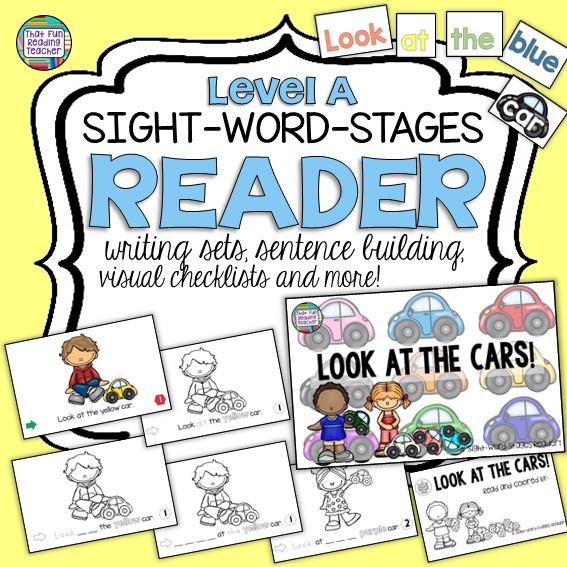 Guided Reading: Look at the Cars Sight-Word-Stages Level A