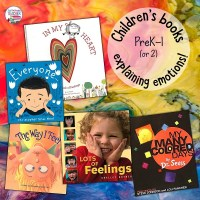 Children's books for explaining emotions (and link to freebie)!