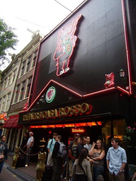Casa Rosso in Amsterdam!