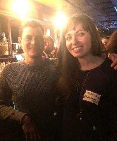 Me and Matt Kepnes, aka Nomadic Matt!
