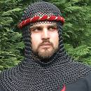 chainmail coif with muay thai thingy
