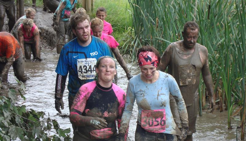 Hayley in Tough Guy Mud Pits
