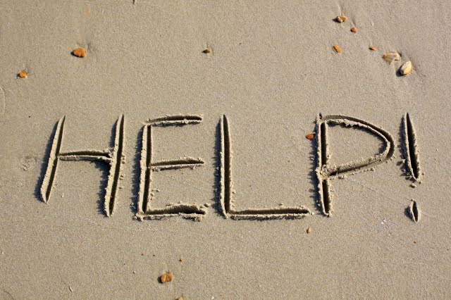 help written in the sand
