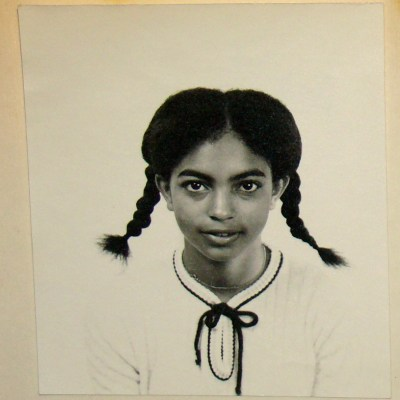 young girl with braids Cheryl Ragsdale age 13 late bloomer