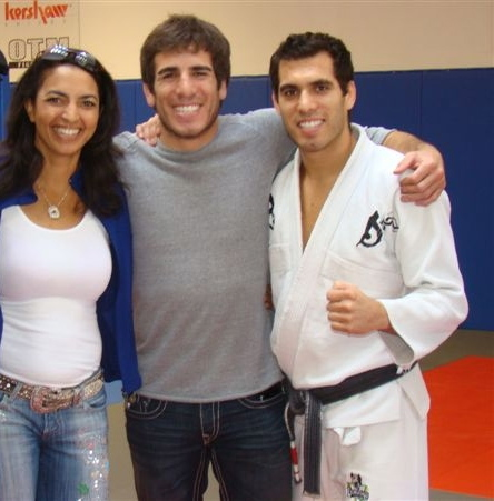 Cheryl Ragsdale, Kenny Florian and Keith Florian at FloMAC Grand Opening 2008