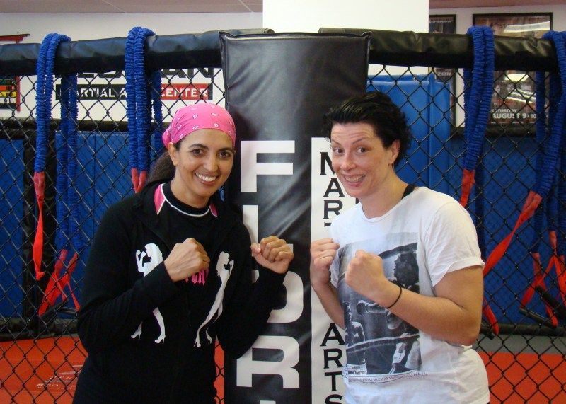 Cheryl Ragsdale and Danielle West MMA Fighter