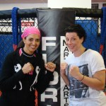 MMA Fighter Danielle West and her visit to Florian Martial Arts
