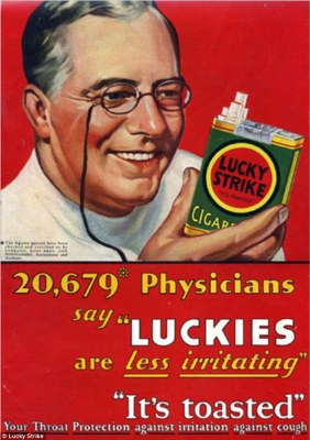 lucky strikes cigarettes