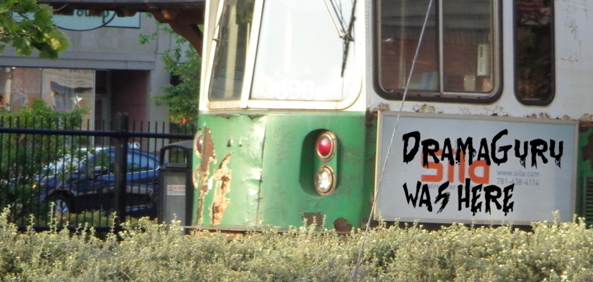 dramaguru graffiti green line train