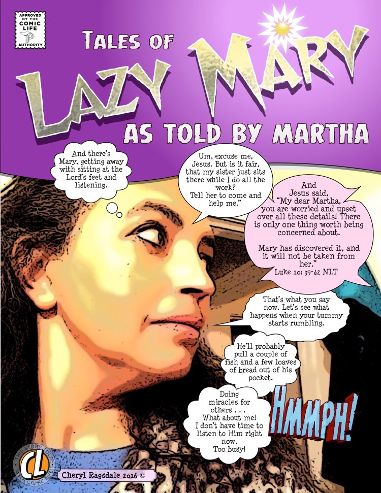 lazy mary tales by martha