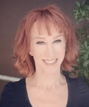 kathy griffin with makeup
