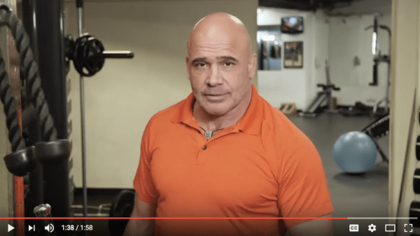 Bas Rutten: Never Sneak Up Behind an MMA Fighter Watching MMA fighter Bas Rutten (on his video) respond to the questions fans ask is fun.