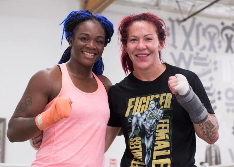 cyborg facebook page with claressa shields