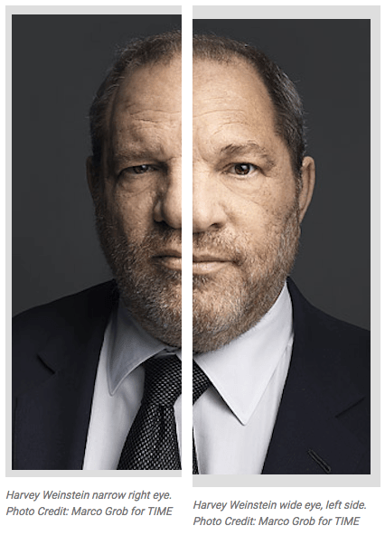 Harvey Weinstein light vs dark