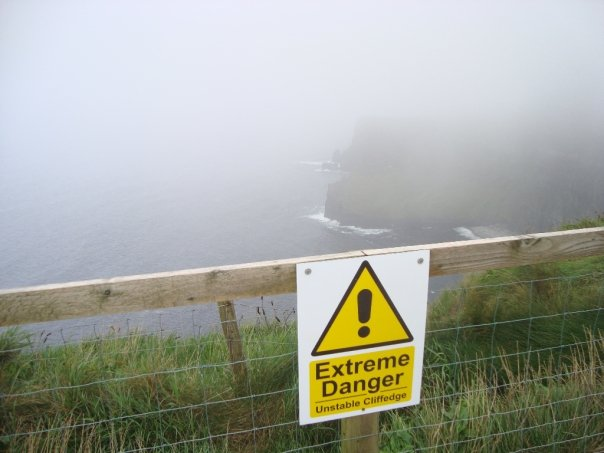 Extreme Danger Cliff Picture