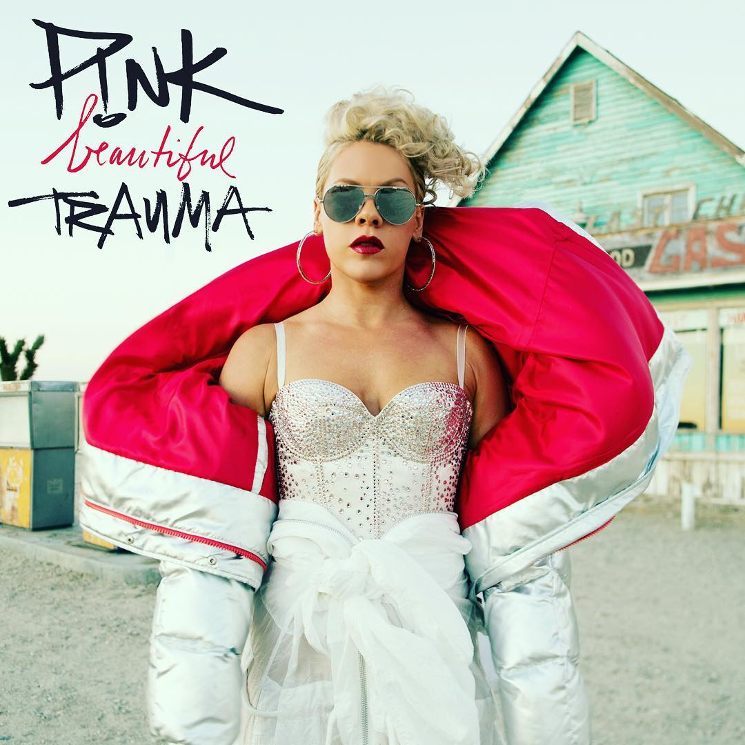 Image result for pink beautiful trauma