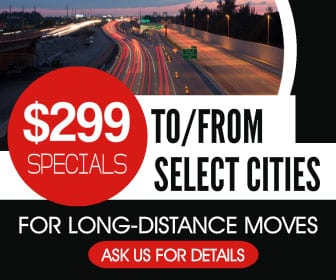 Kelowna Movers - That Guy Van Lines - $299 special for long distance moves