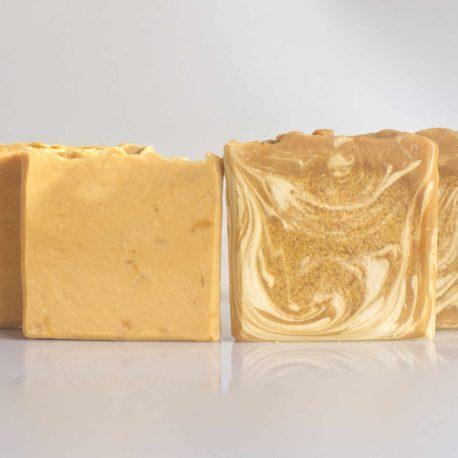 pumpkin spice bath soap