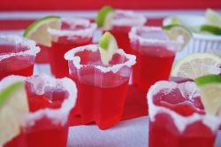 Strawberry Margarita Shots zoom in