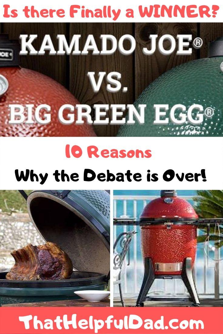 Big Green Egg vs Kamado Joe