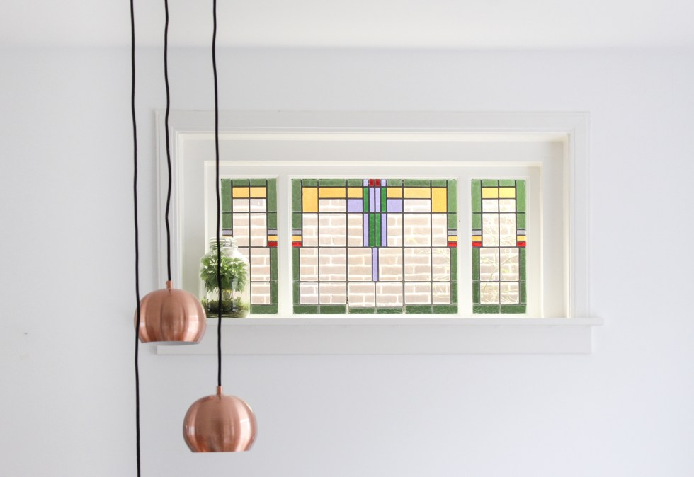 glas-in-lood, glas-in-lood raam, raam, dubbel glas, glas vervangen, glasgigant, jaren 30 huis, oud huis kopen, oud huis, ouder huis, ouder huis kopen, thathomepage, interieur, interieurinspiratie