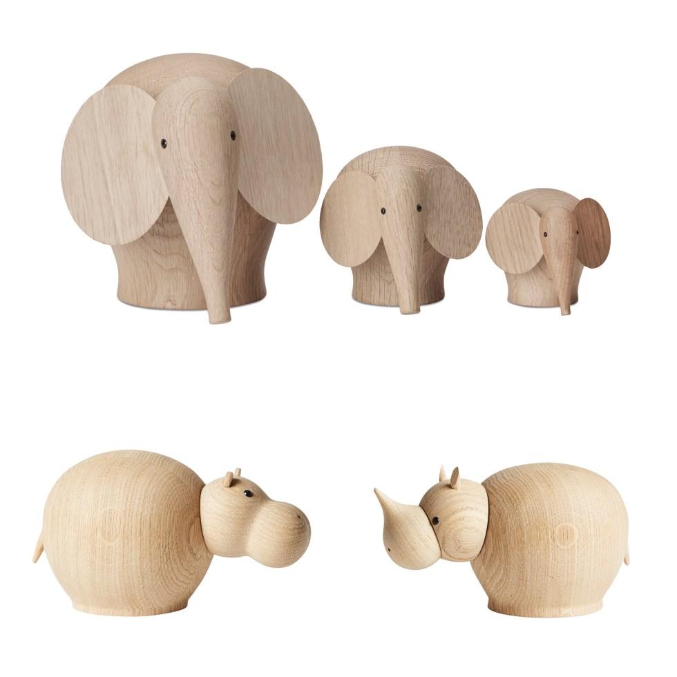 de leukste houten dieren, Woud, Woud Design, houten dieren, houten olifant, houten neushoorn, houten nijlpaard, hout, dierfiguren, dierfiguurtjes, houten dierfiguren, houten dierfiguurtjes, Nunu, Riba, Hibo, thathomepage, interieurinspiratie