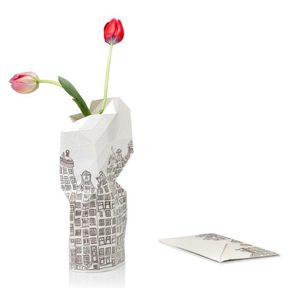 pepe heykoop, vase cover, Amsterdam, papieren vaas, interieurinspiratie, woonaccessoires, thathomepage