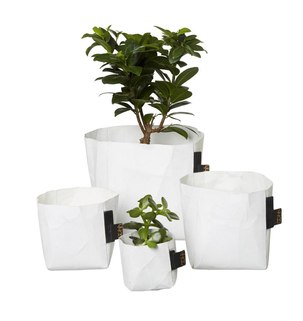 OOhh, plantenzak, paper bag, papieren woonaccessoires, papier, interieurinspiratie, thathomepage
