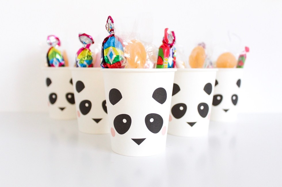 panda traktatie, panda, pandafeestje, traktatie, uitdelen, snoepzakje, my little day, kinderfeestje, inspiratie, thathomepage